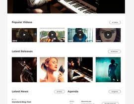 #7 for Wordpress Website for a DJ/Magician af emuict
