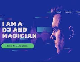 #5 for Wordpress Website for a DJ/Magician af mdsobuzchandar52