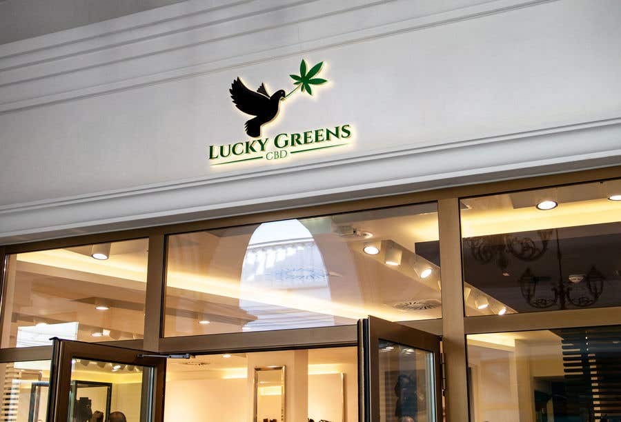 Contest Entry #1193 for Lucky Greens CBD