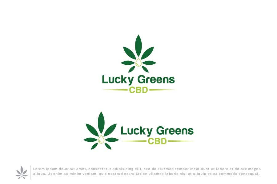 Contest Entry #1059 for Lucky Greens CBD