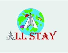 #670 pentru Allstay logo design de către HJmayaz
