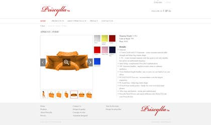 #37 for Website Design for Women's Tote Bags by stonedesigner