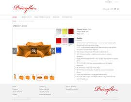#37 para Website Design for Women's Tote Bags por stonedesigner