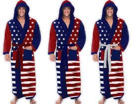 Nro 67 kilpailuun Design an American Flag Bathrobe käyttäjältä MayonPunx