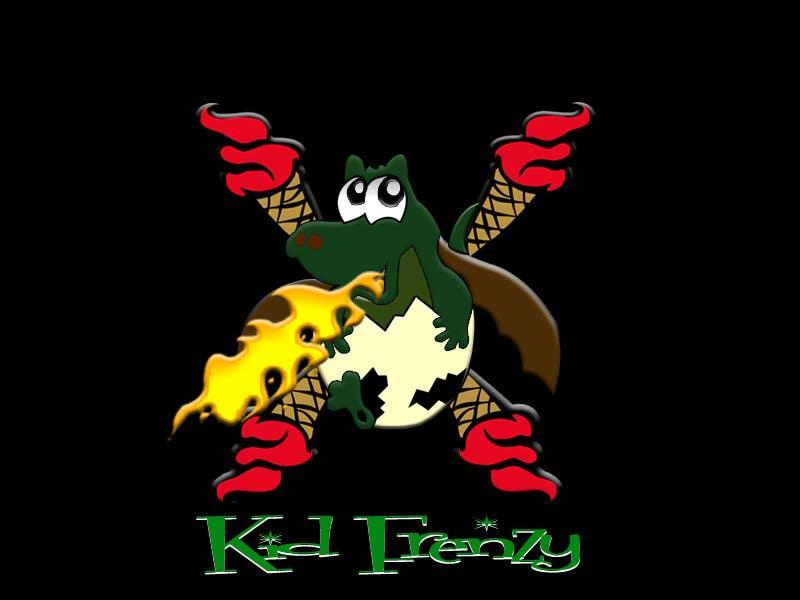 "Proposition n°                                        7                                      du concours                                         Design a Logo for ""Kid Frenzey"""