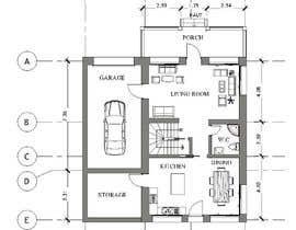 #35 for Create a house plan af NafaaBA