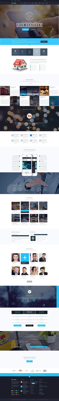 Bài tham dự cuộc thi #28 cho Redesign our main web page