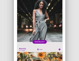#41 for Redesign of dating app main page by KavkeeDesigns