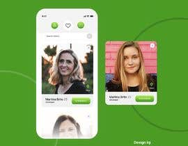#33 for Redesign of dating app main page by kubulu