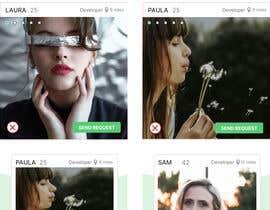 FioB tarafından Redesign of dating app main page için no 30