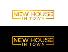 nº 307 pour New House In Town - Real estate agency logo par designguru775