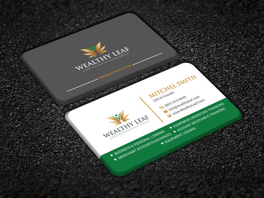 Proposition n°215 du concours Wealthy Leaf needs business cards
