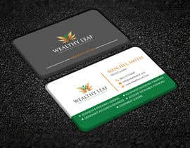 #215 for Wealthy Leaf needs business cards by sohelrana210005