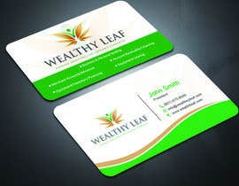 #268 for Wealthy Leaf needs business cards by sima360