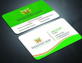 #269 for Wealthy Leaf needs business cards by sima360