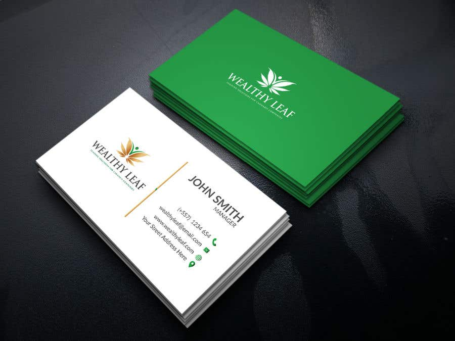 Proposition n°26 du concours Wealthy Leaf needs business cards