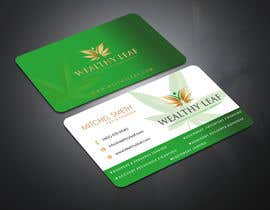 #279 for Wealthy Leaf needs business cards by Nishi69
