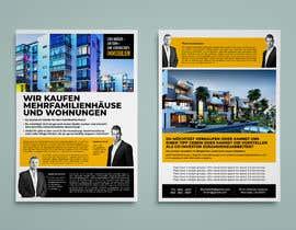 Nro 114 kilpailuun Flyer Design for Real Estate Agent käyttäjältä codesktechnology