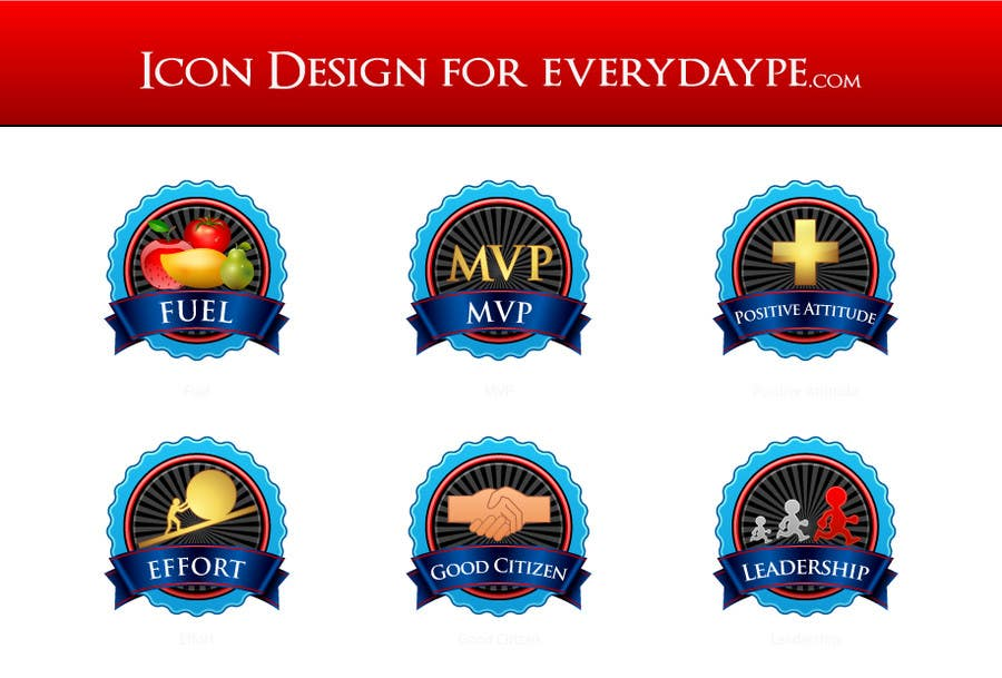 #14 for Icon or Button Design for www.everydaype.com by raikulung