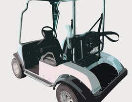 #6 for photoshop rear golf cart pictures by Aftabahmed101