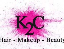 nº 9 pour the company is called K2C, Hair - Makeup - beauty should sit under the logo please look at attachments for ideas of what I am after. par rajalmanerikar
