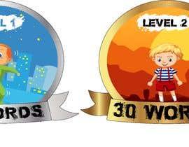 #48 para Design badges for an language learning platform de efecanakar
