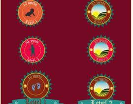 #13 untuk Design badges for an language learning platform oleh mrinmoymithun77