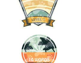 #44 for Design badges for an language learning platform by shimanto23