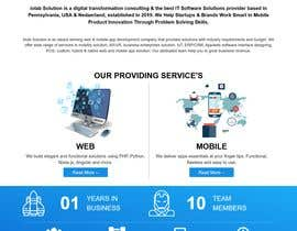 #45 for Create a design for a company website by mostakimislam19