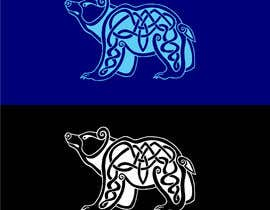 #4 for Celtic Knot Bear with trefoil by hossaingpix