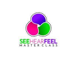 #254 untuk See Hear Feel Master Class logo oleh motionmines2019