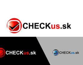 #58 para Logo Design for CHECKus.sk por won7