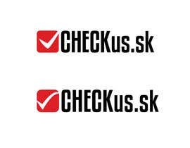 #97 para Logo Design for CHECKus.sk por AnaKostovic27