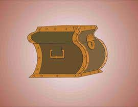 #5 for Need a graphic of a modern steam punk type Trunk/Chest with video game glow upon open view. by djamolidin