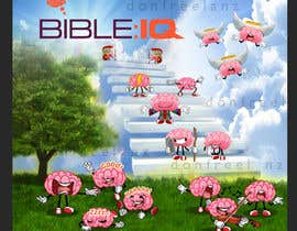 #41 for Create a piece of Art using our logo and our Bible-brain characters by donfreelanz