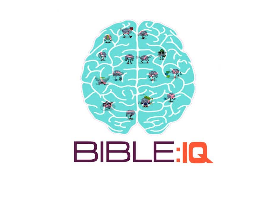 Bài tham dự cuộc thi #25 cho Create a piece of Art using our logo and our Bible-brain characters