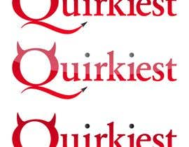 Djdesign님에 의한 Logo Design for www.quirkiest.com을(를) 위한 #175