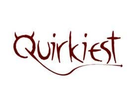 #131 สำหรับ Logo Design for www.quirkiest.com โดย emgebob