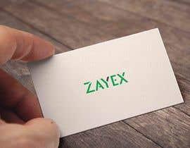 nº 362 pour Design the logo for the name: Zayex par tousikhasan