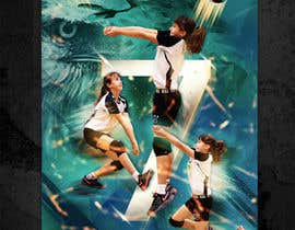 #87 for Volleyball Sports Poster by edyna9