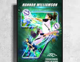 #83 for Volleyball Sports Poster by johnian123