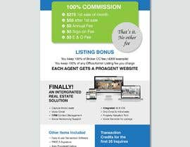 nº 120 pour Custom Flyer for Recruiting Real Estate Agents par ferisusanty