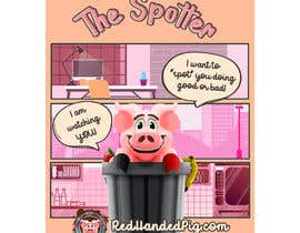 """mirandalengo tarafından Enhance our Marketing Poster for our Red-Handed Pig product called """"THE SPOTTER"""" için no 35"""
