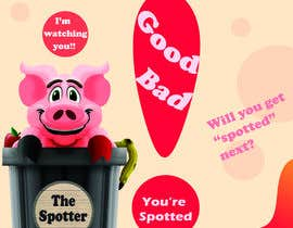 """tony082712 tarafından Enhance our Marketing Poster for our Red-Handed Pig product called """"THE SPOTTER"""" için no 27"""