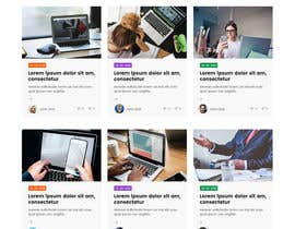 #37 cho Need Blog website design (html) bởi nizagen