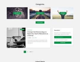 #32 cho Need Blog website design (html) bởi agwanyasin