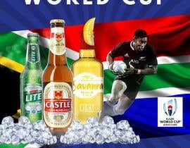 #13 for design a poster ( Rugby world cup ) south Africa vs af andresduquex