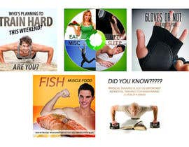 #3 for Website Design for 5 x Facebook image tiles, HEALTH AND FITNESS af creationz2011