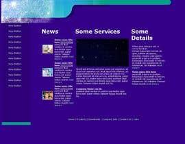 #8 untuk Mafia Game website homepage design oleh sanmoon2