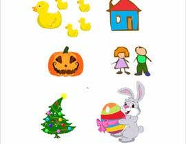 #5 for kindergarten web site icon illustrations by legalpalava
